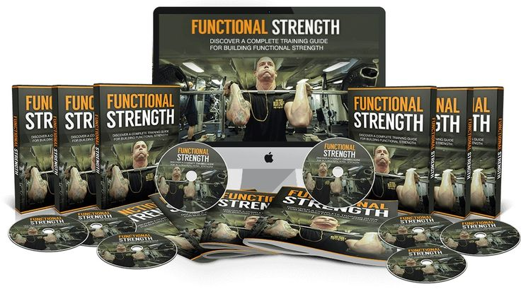 Functional Strength -   If you follow the step-by-step guide to building functional strength, you will discover how to build REAL strength and health. You should start seeing and feeling real results within a few weeks…
