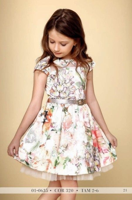 Vestido Infantil Diforini Moda Infanto Juvenil 010635