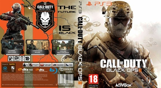 Call of Duty Black Ops 2 PS3 Cover
