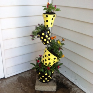 Best Pot People And More Images On Pinterest Clay Pots - Sporting clay window decalsgiraffe garden statue giraffe clay pot clay pot animal