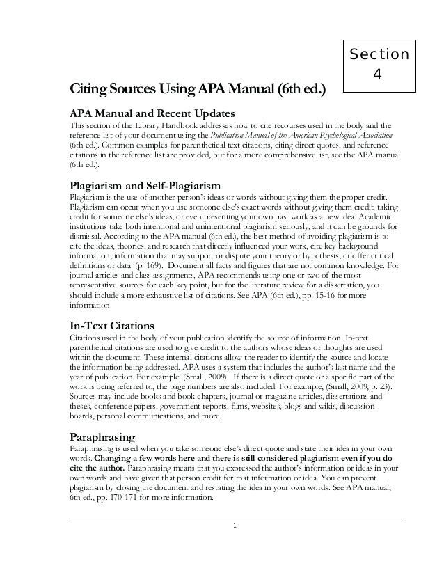 Image result for How To Cite References In APA 6th Edition Formatted
