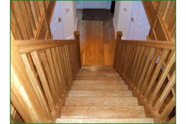 Stretton American White Oak Staircase
