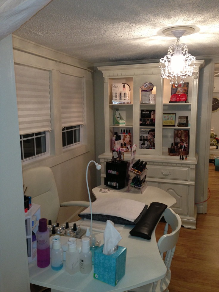 My nail room nailst pinterest inspiration for Room setting ideas