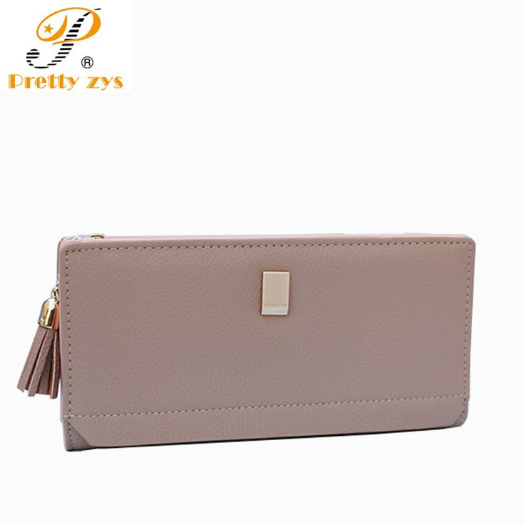 Prettyzys New High Quality Women Wallets Designer Brand Woman Wallet PU Leather Ladies Purse Fashion Brand Wallets for Women