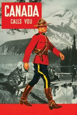 Vintage Canadiana (No wonder they think we all dress like this)