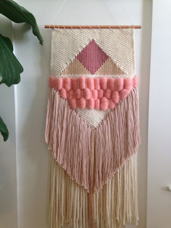 Handmade Woven Wall Art by SunWoven on Etsy More