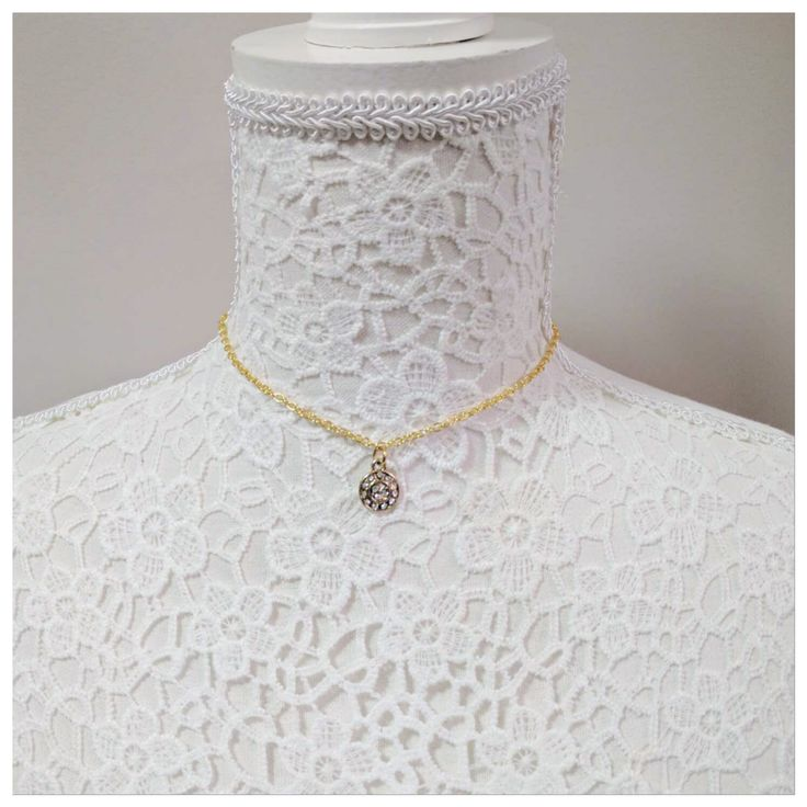 Assorted Small Charm Choker Necklaces
