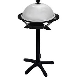 @Overstock - From George Foreman, this nonstick indoor/outdoor electric grill is perfect for getting that genuine grilled taste without the hassle of a gas grill. The detachable grease tray, removable lid, and removable grill make for easy cleanup.http://www.overstock.com/Home-Garden/George-Foreman-Round-In-Outdoor-Electric-Grill/3907231/product.html?CID=214117 $81.24