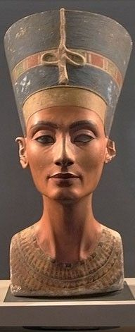 """Egypt ~ Nefertiti ~~ """"The Beautiful One Comes"""" best expresses the meaning of the hieroglyphs used in her name. ds"""