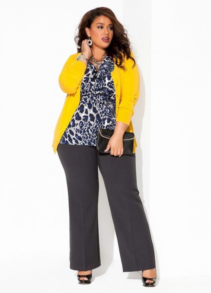 37 Proportional Plus Size Work Fashion for Women Career 2