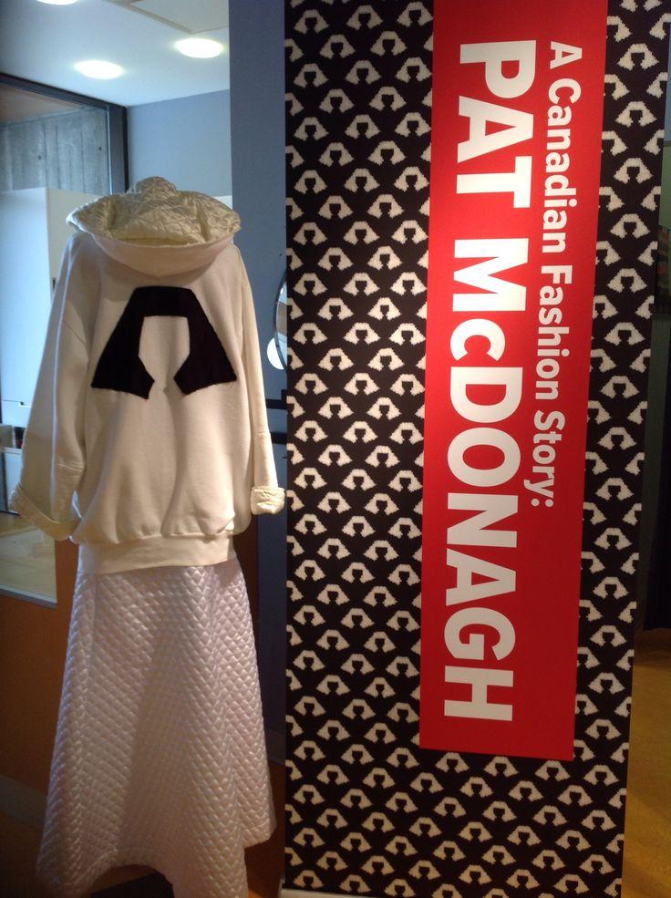 2016 Pat McDonagh collaborative exhibit - Seneca Fashion Resource Centre and Fashion History Museum.