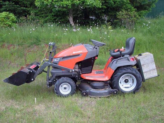 Riding Lawn Tractor Attachments : Homemade riding lawn mower attachments ftempo
