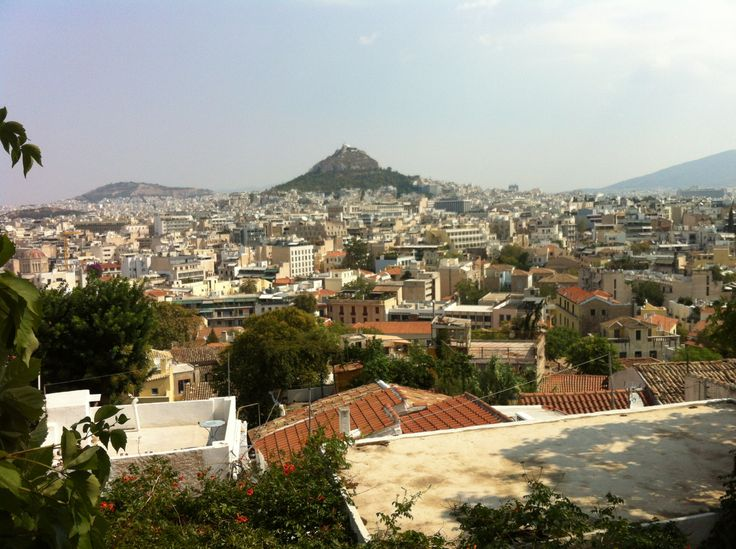 Do you know how Lecabettus Hill was made?