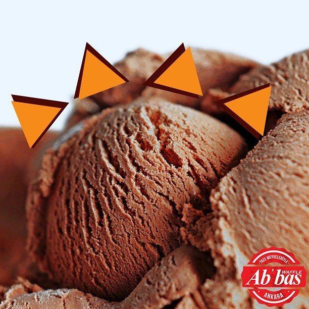 Abbas Waffle'da çikolatalı gelato, gerçek çikolatayla üretilir. Çünkü sadece gerçek çikolata bu mutluluğu verir!  #AbbasWaffleAnkara #AbbasGelato #GerçekÇikolata