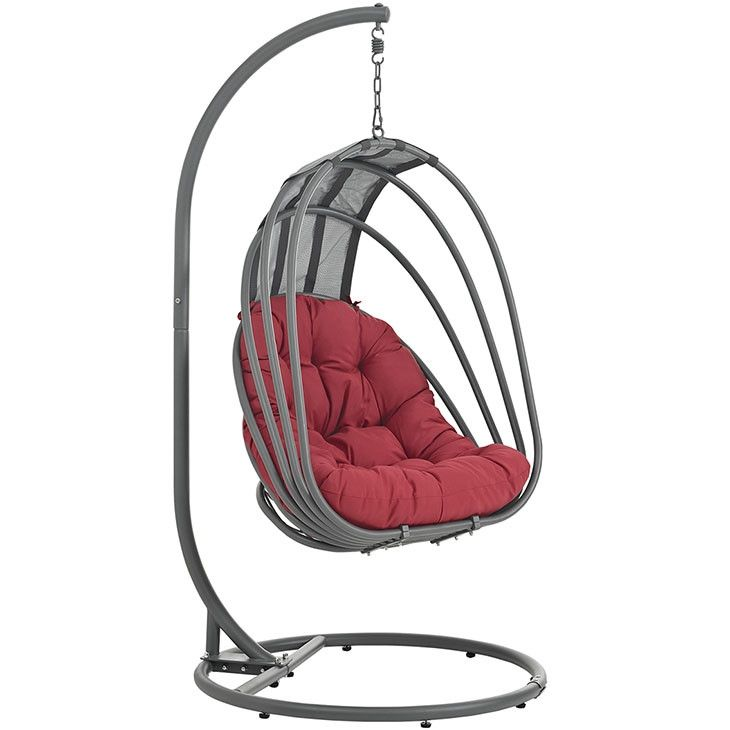 Modway Furniture Modern Whisk Outdoor Patio Swing Chair