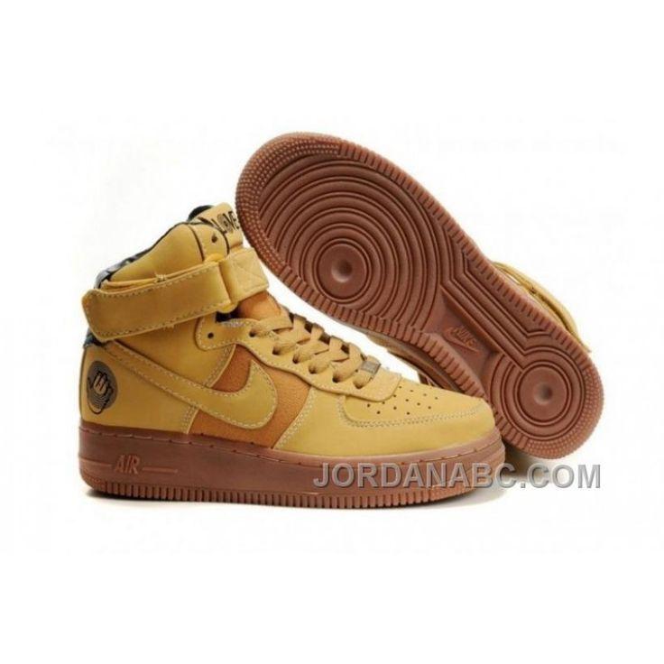 2012 Nike Air Force 1 High Army Green Half Off Nike Frees