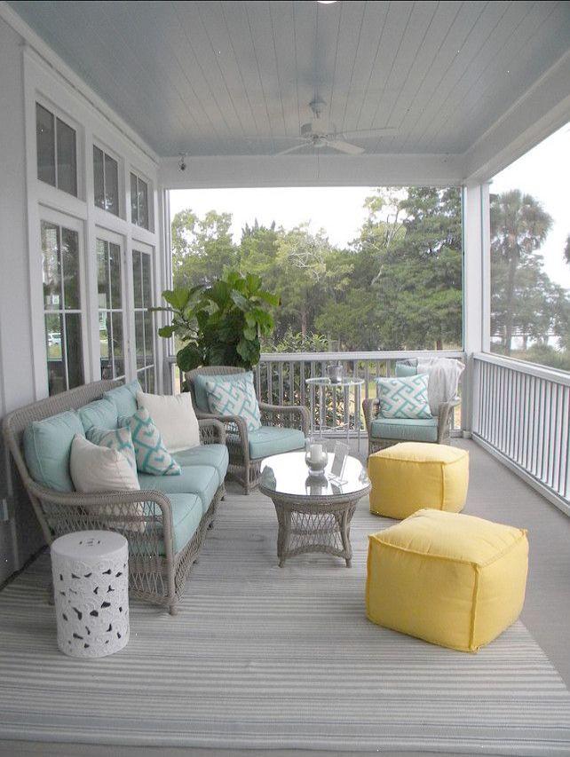 Daniel Island South Carolina Beach House Patio