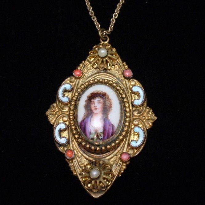 78 best ideas about portrait jewelry on