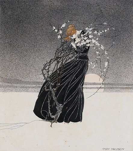 Kay Nielsen Art Nouveau inspired fairy tale illustrations
