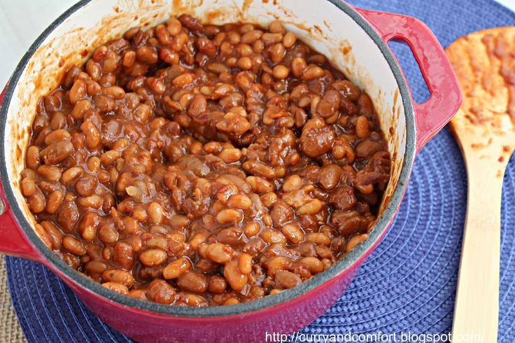 Slow Cooker Vegetarian Baked Beans - increase brown sugar to ...
