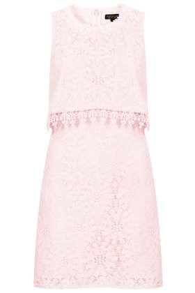 Wheel Lace Crop Dress