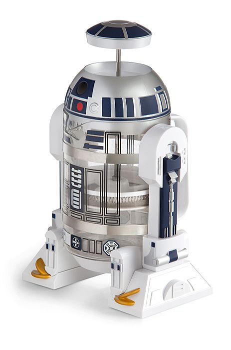 R2-D2 Coffee Press Is The Force Your Mornings Need To Take On A Galactic Empire Sized Day -  #coffee #r2d2 #starwars