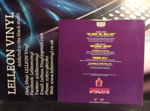 "Megadeath No More Mr Nice Guy 12"" Single 12SBK4 Rock (No Poster) 80's 'Shocker' Music:Records:12'' Singles:Rock:Hard"