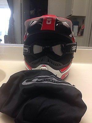 #apparel kbc helmet, Scott Goggles & Storage Bag please retweet