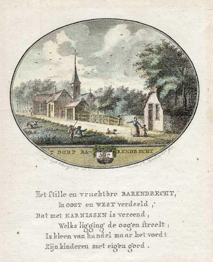Barendrecht Print, 1796