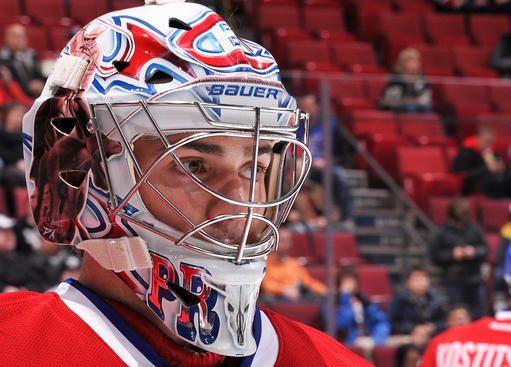 Carey Price 2010 - 2011 Mask