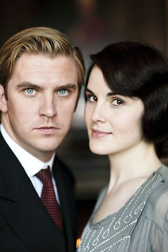 Matthew Crawley and Lady Mary (Dan Stevens and Michelle Dockery) #DowntonAbbey