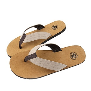 PP11551-IVORY) Mens and Womens Casual Flip Flops
