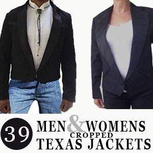 33b2d8e56cd Men & Women's Western Style Cropped Tuxedo Jackets | Products ...