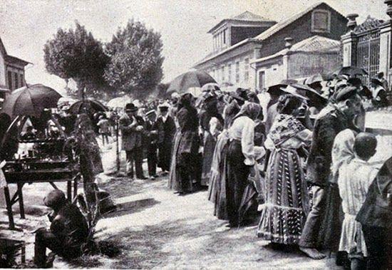 Etnografia em imagens: Romaria do Senhor de Matosinhos em 1914