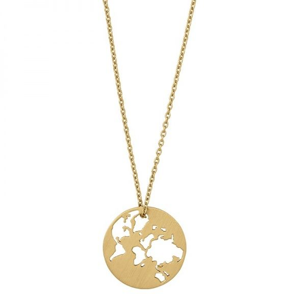 By Biel - BEAUTIFUL WORLD WITH NECKLACE - GOLD
