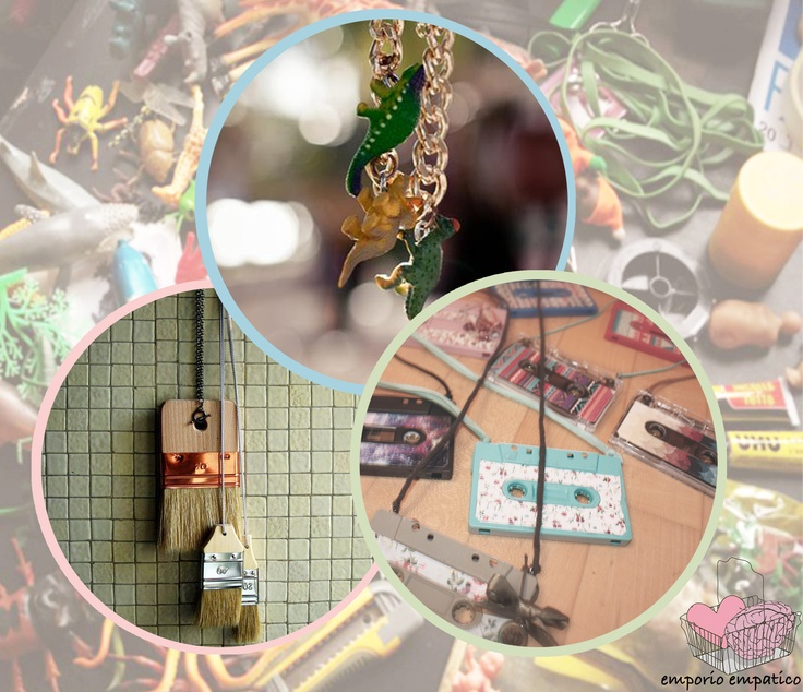 EMporio EMpatico, bijoux and accessories made with recycled toys and materials - Special Price!