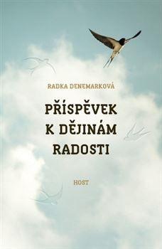 Obálka románu Příspěvek k dějinám radosti
