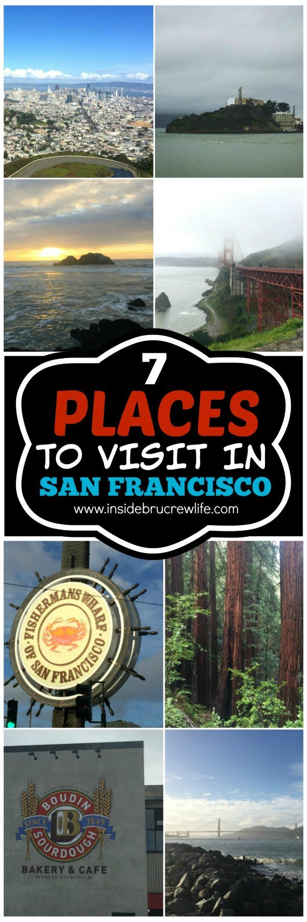 Seven Places to Visit in San Francisco | Inside BruCrew Life | Bloglovin'