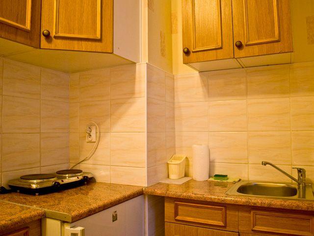 Kuchnia w hotelu pracowniczym FLORIAN kraków
