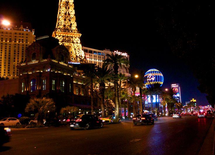 The Strip by night. Las Vegas, Nevada.
