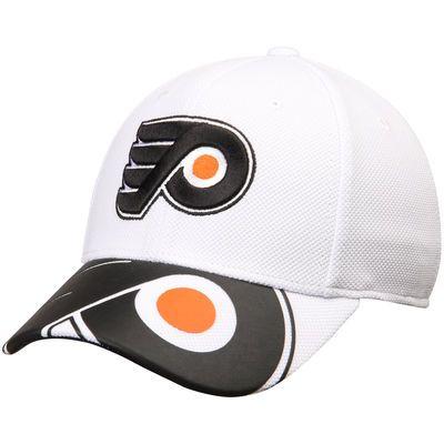 Philadelphia Flyers Reebok Face Off Draft Flex Hat - White