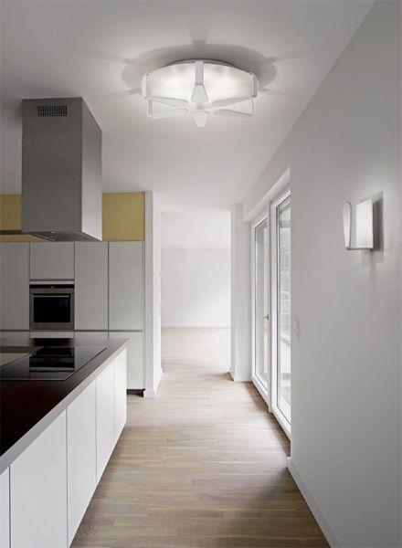 Plafon BIP PL6 led (Ideal Lux): oświetlenie salonu, oświetlenie sufitowe do kuchni lub lampa do holu.