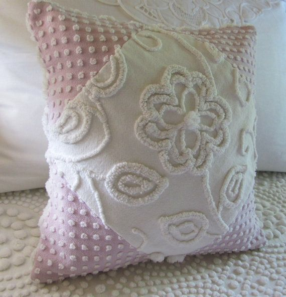 Chenille pillow cover