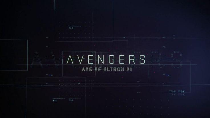 Marvel's Avengers: Age of Ultron UI Reel