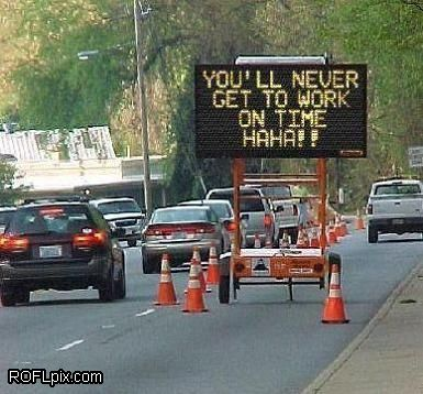 Funny construction sign #funny