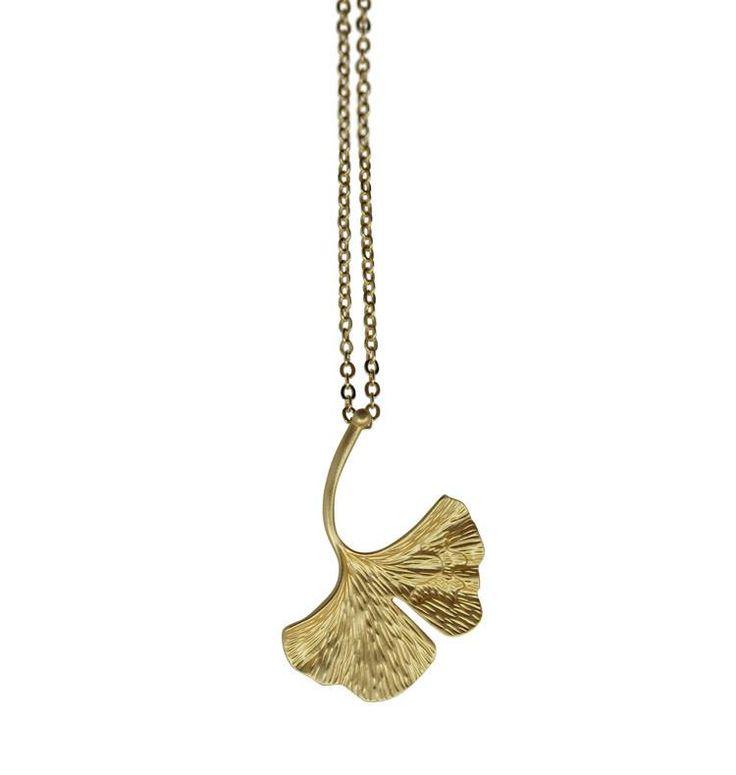Halsband Ginko • guld #angel-pearls #ginko #ginkolov #guld #halsband #trend