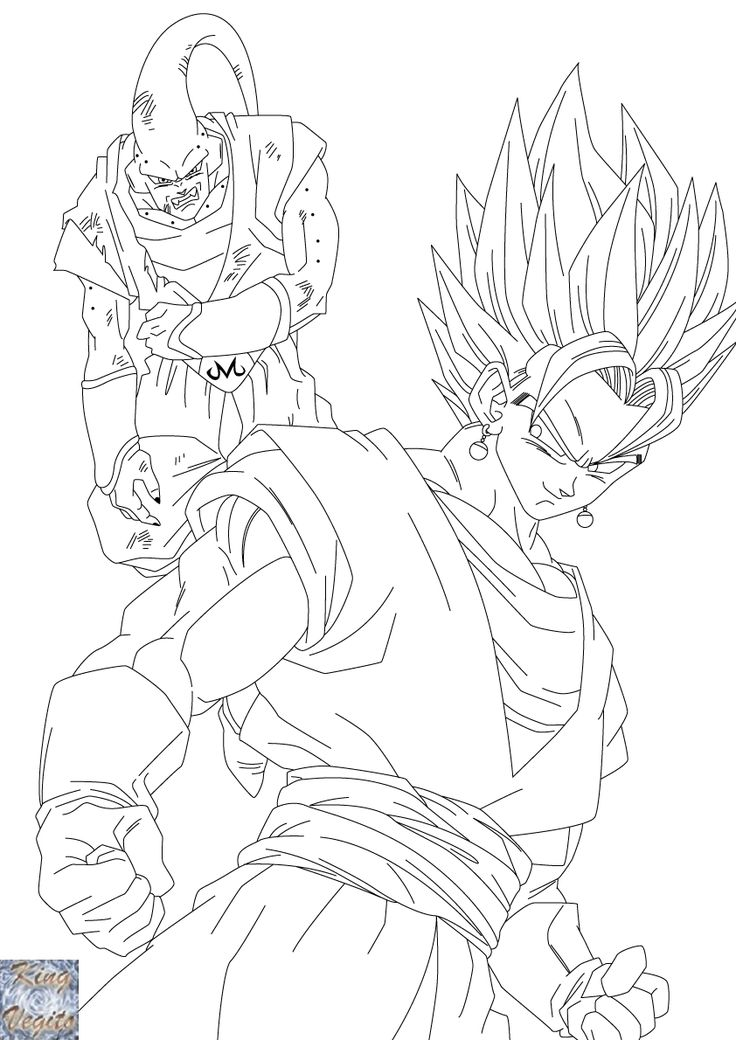 Download or print this amazing coloring page Dragon Ball
