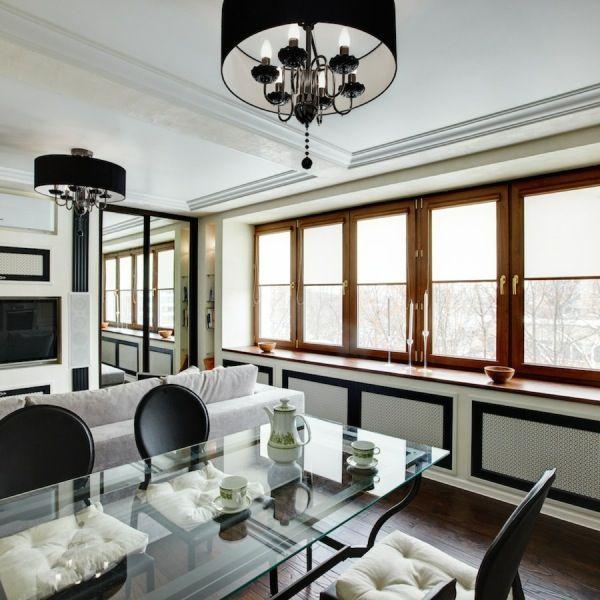 Квартира – площадью 87 м2 – В гостях у дизайнера