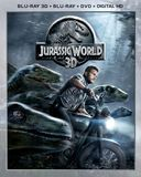 Jurassic World [3D] [Includes Digital Copy] [Blu-ray/DVD] [Blu-ray/Blu-ray 3D/DVD] [2015]