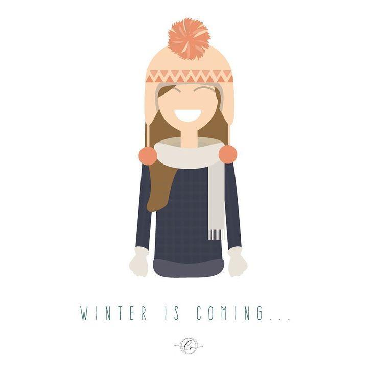 Winter is coming... #llegoelfrio #invierno #winteriscoming #illustrator #vector #design #instaart #graphicdesign